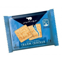 BISCOITO CREAM CRACKER SACHET JUNIOR
